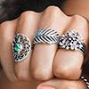 Кольца Пандора серебро