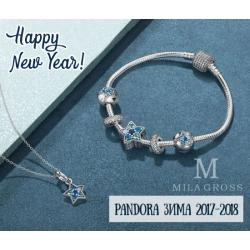 Зимняя коллекция Пандора 2017-2018 (Pandora зима 2017 обзор шармов)