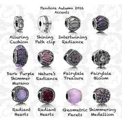 Новая осенняя коллекция Пандора серебро (осень 2016) - обзор.