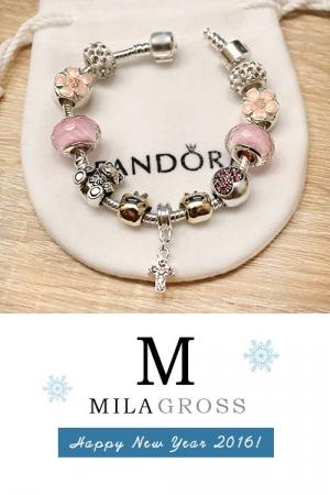 """Элитный наборной браслет """"Pink Spring"""""""