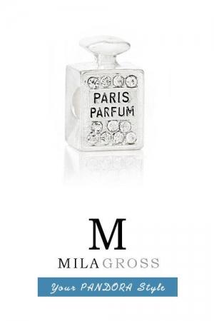 """Шарм Пандора """"Paris Parfum"""" (ювелирный сплав)"""