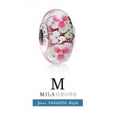 """Бусина Пандора муранское стекло серебро """"Flower Garden"""" (Цветочный сад)"""