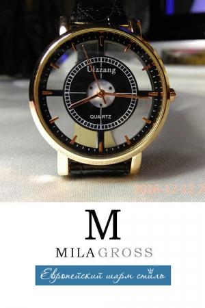 """Стильные женские водонепроницаемые часы """"Simple brown"""""""