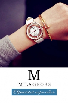 "Стильные женские водонепроницаемые часы ""Simple white"" (Горячая цена!)"