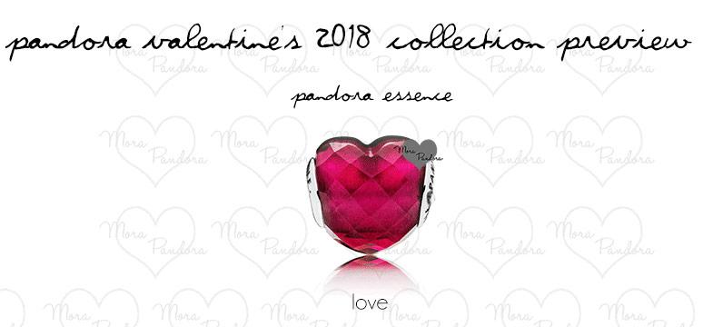 Новая коллекция Пандора День Св. Валентина 2018 - шармов Essence (Ессенс)