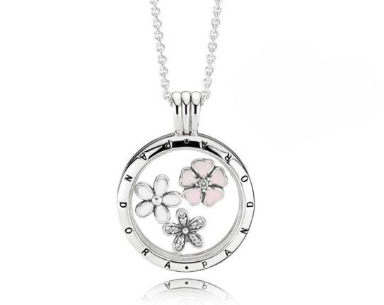 Floral medallion Pandora - купить цветочный медальон петиты пандора