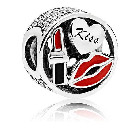 Шарм Pandora Glamour Kiss (Поцелуй) купить в Украине