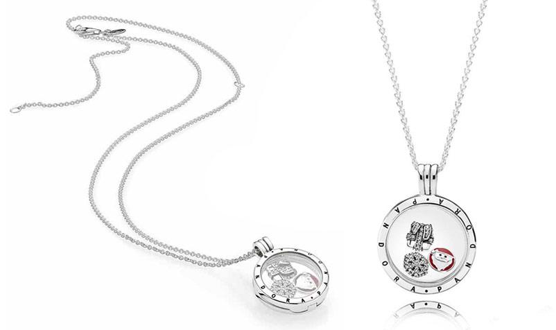 Ожерелье Pandora новый год (зимняя коллекция)