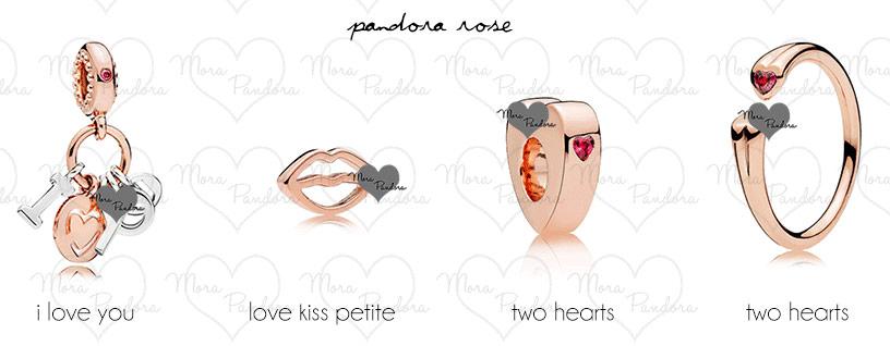 Pandora rose шармы и украшения - новая коллекция ко Дню Св. Валентина 2018