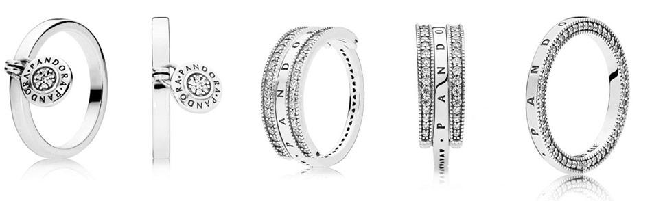 Кольца Pandora коллекция пре-осень 2018
