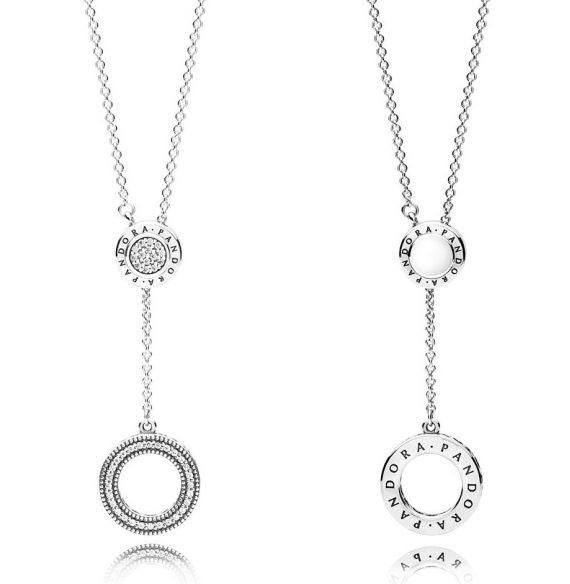 PANDORA Signature Necklace ожерелье купить украина