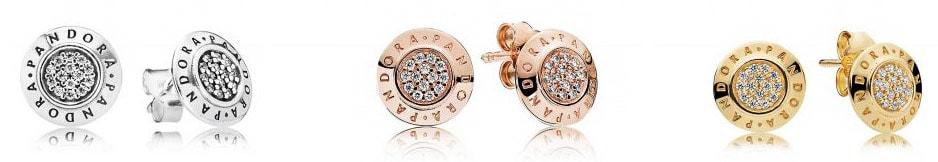 Серьги Пандора Signature Earrings Silver купить украина