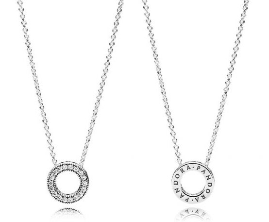 Small Hearts of Pandora Necklace ожерелье Украина