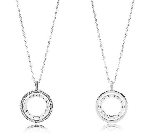 Spinning Hearts of Pandora Necklace ожерелье купить